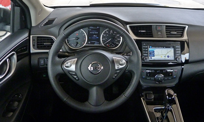 Sentra Reviews: Nissan Sentra instrument panel