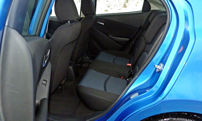 Scion iA Photos: Scion iA back seat