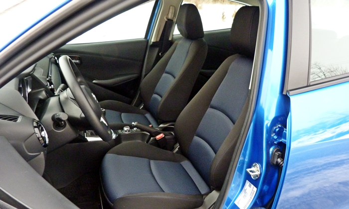 Scion iA Photos: Scion iA driver seat