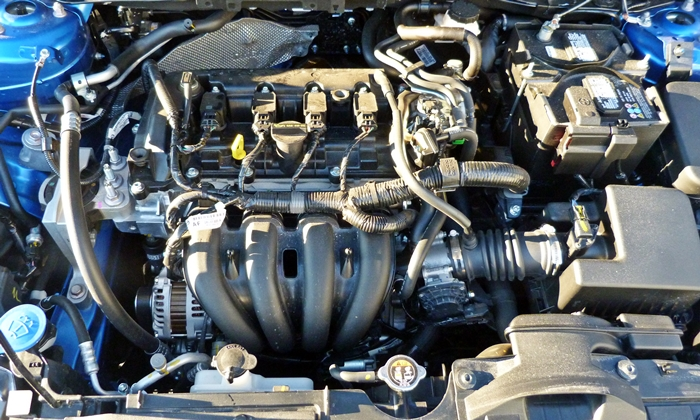 iA Reviews: Scion iA engine