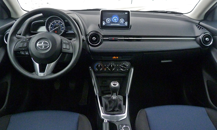 Scion iA Photos: Scion iA instrument panel full