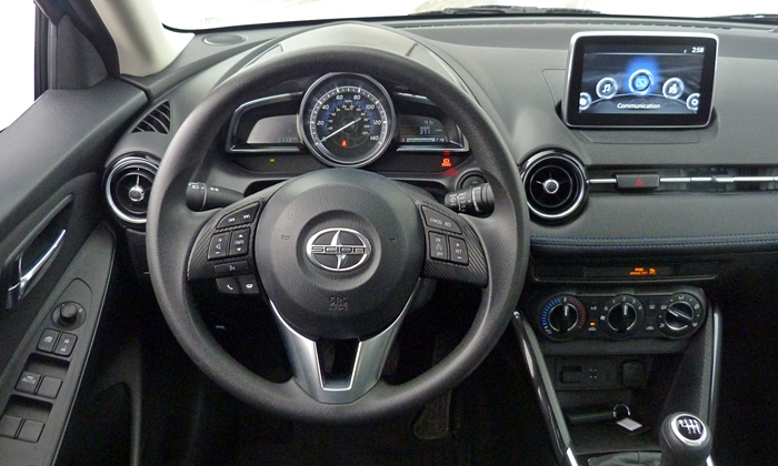 iA Reviews: Scion iA instrument panel