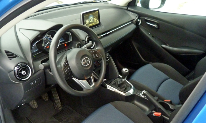 iA Reviews: Scion iA interior