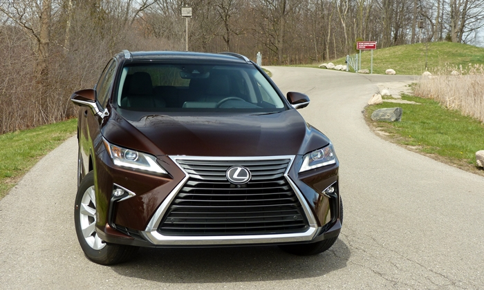 RX Reviews: Lexus RX 350 front view