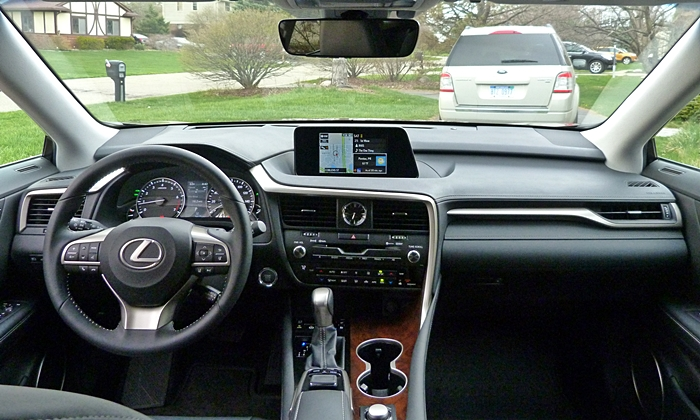 RX Reviews: Lexus RX 350 instrument panel full