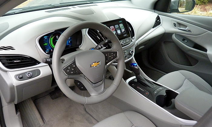 Volt Reviews: Chevrolet Volt Interior