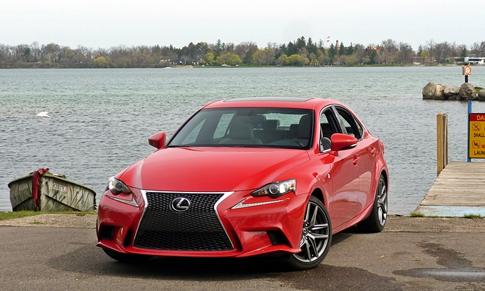IS Reviews: Lexus IS 200t front angle