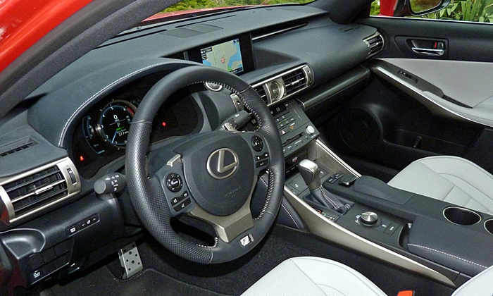 IS Reviews: Lexus IS 200t interior