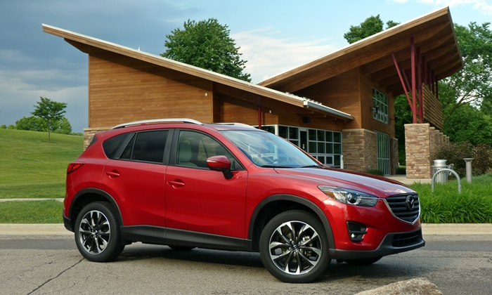 Volkswagen Golf / Rabbit / GTI Photos: Mazda CX-5 front quarter
