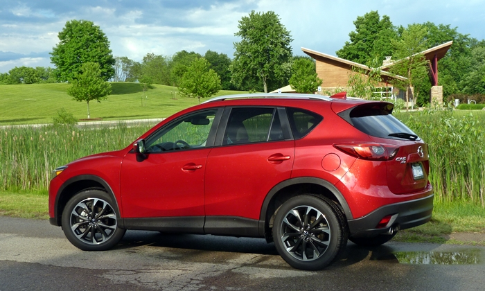 Volkswagen Golf / Rabbit / GTI Photos: Mazda CX-5 rear quarter view