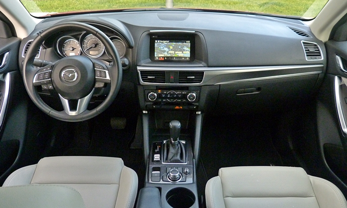 Volkswagen Golf / Rabbit / GTI Photos: Mazda CX-5 instrument panel full