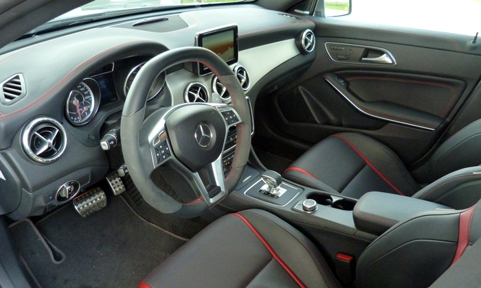 Audi A3 / S3 Photos: Mercedes-AMG CLA45 interior