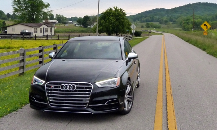 A3 / S3 Reviews: Audi S3 front