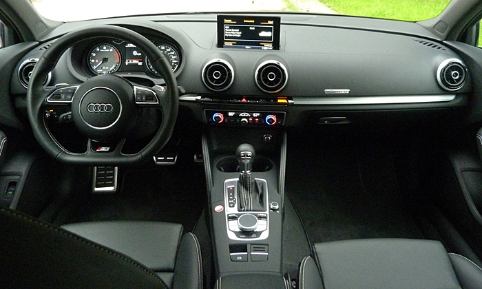 A3 / S3 Reviews: Audi S3 instrument panel full