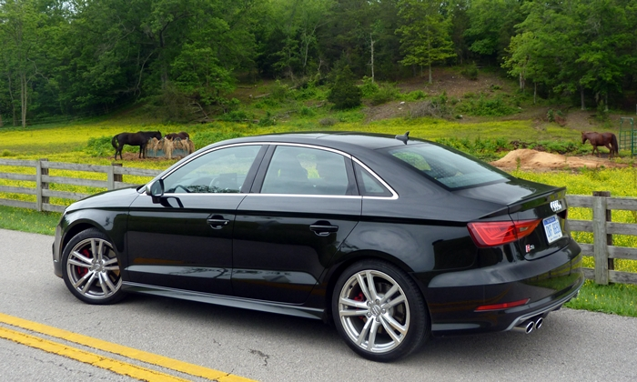 A3 / S3 Reviews: Audi S3 rear quarter