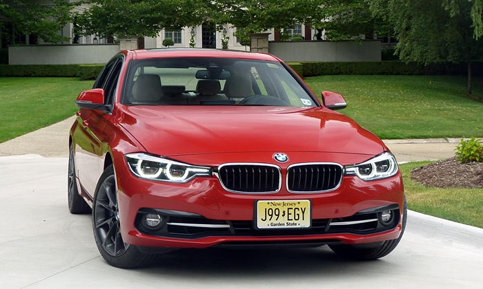 3-Series Reviews: BMW 340i front view