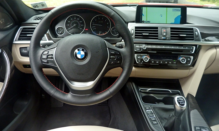 3-Series Reviews: BMW 340i instrument panel