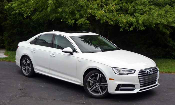 A4 Reviews: 2017 Audi A4 front quarter