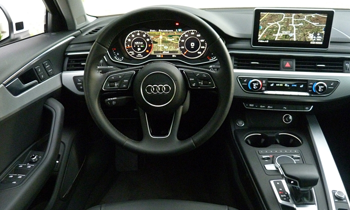 A4 Reviews: 2017 Audi A4 instrument panel