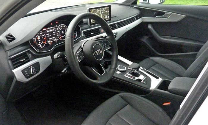 A4 Reviews: 2017 Audi A4 interior