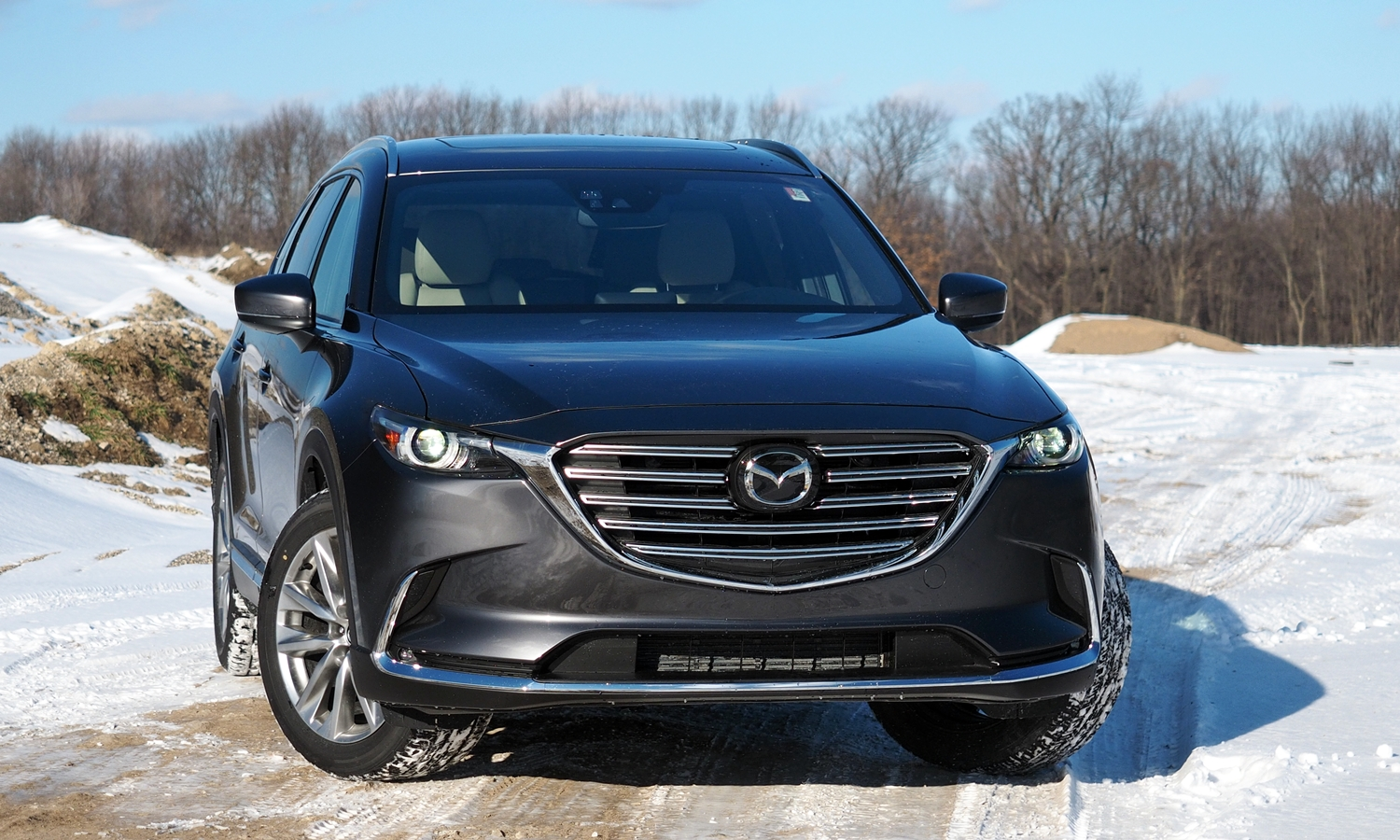 GMC Acadia Photos: 2016 Mazda CX-9 front view