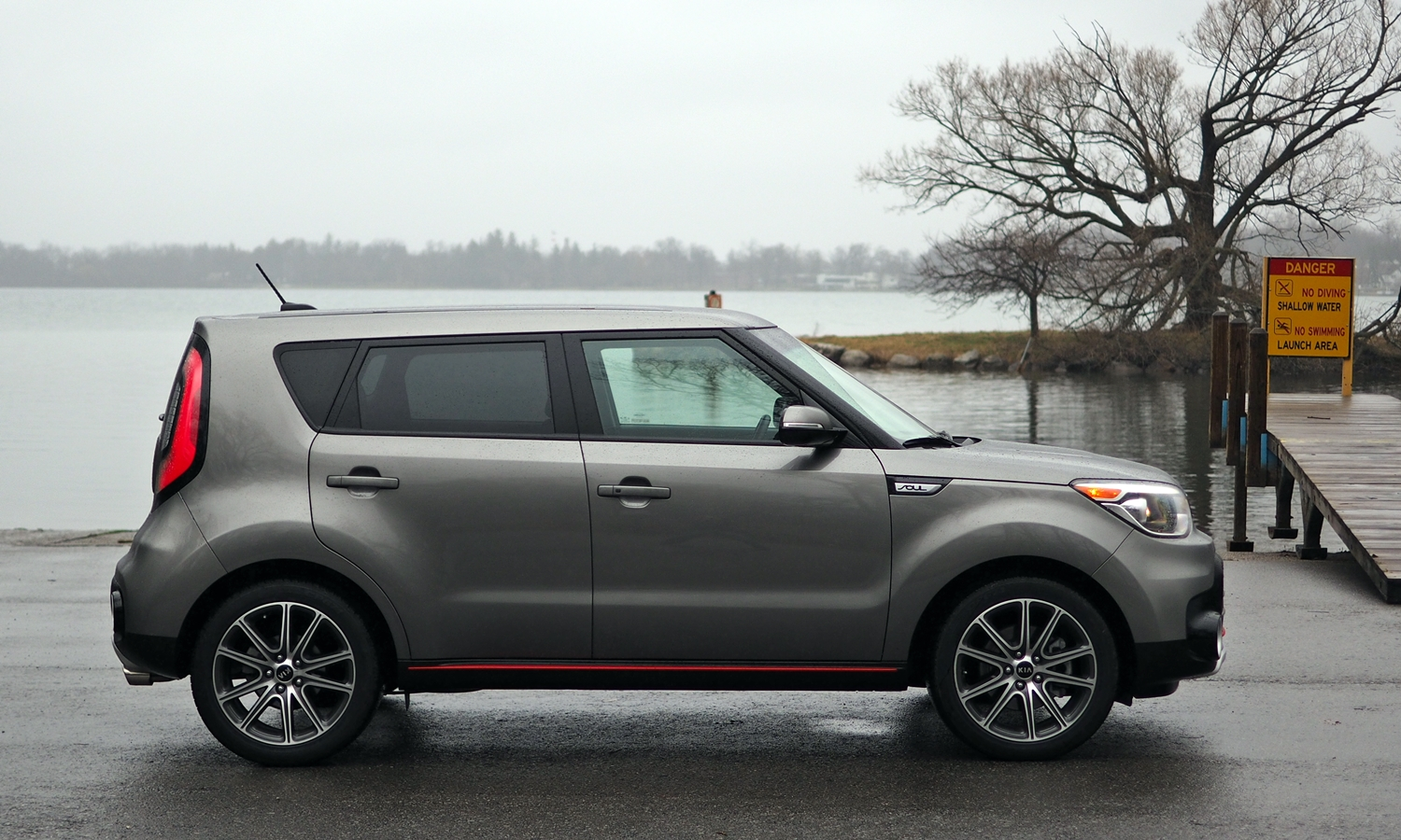Kia Soul Photos: 2017 Kia Soul ! side view