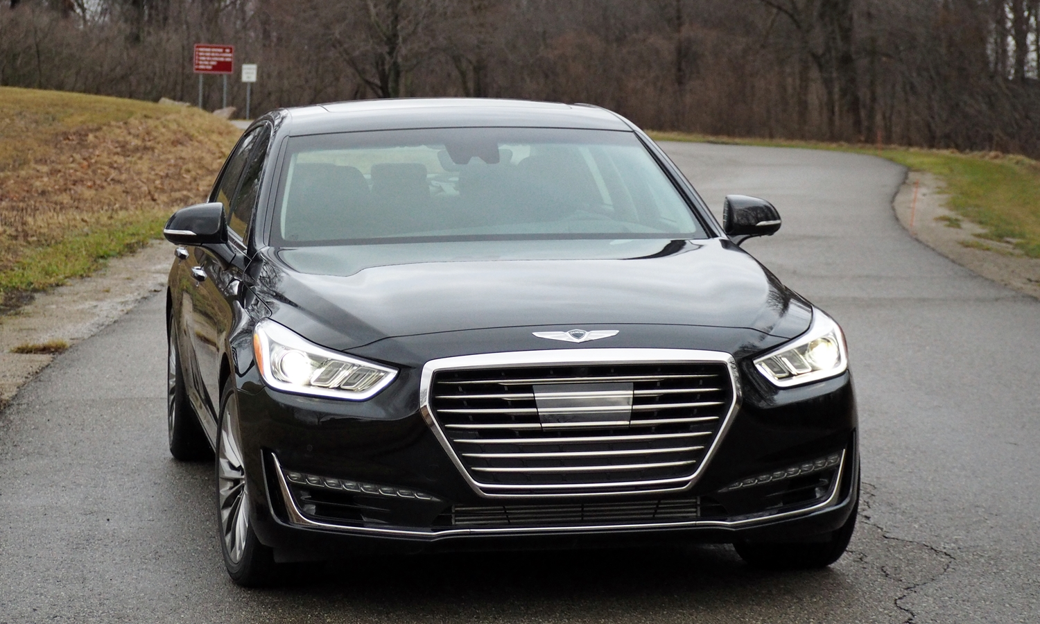 Genesis G90 Photos: 2017 Genesis G90 front view