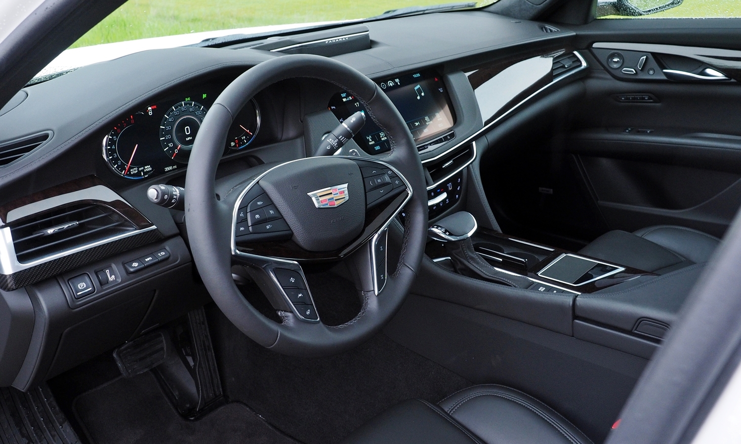 Genesis G90 Photos: Cadillac CT6 interior