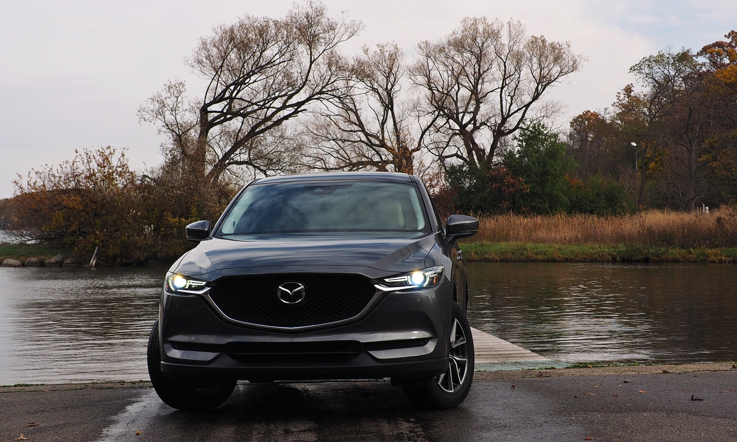 CX-5 Reviews: 2017 Mazda CX-5 front view