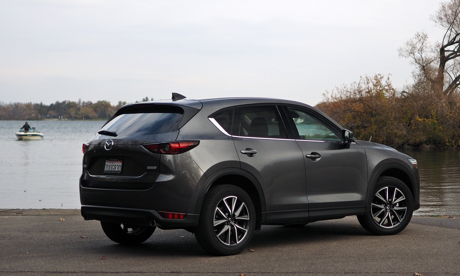 CX-5 Reviews: 2017 Mazda CX-5 rear quarter view