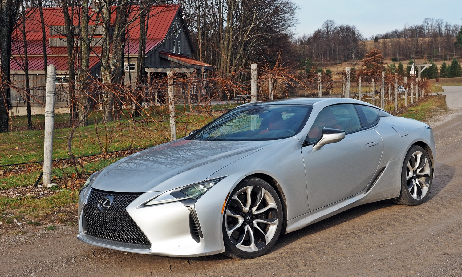 Lexus LC Photos: Lexus LC 500 front quarter view