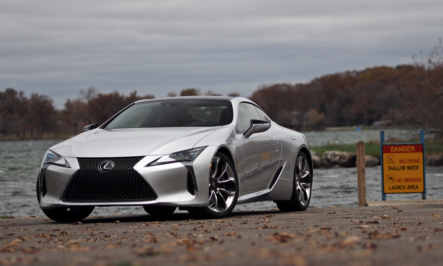 Lexus LC Photos: Lexus LC 500 front angle view low