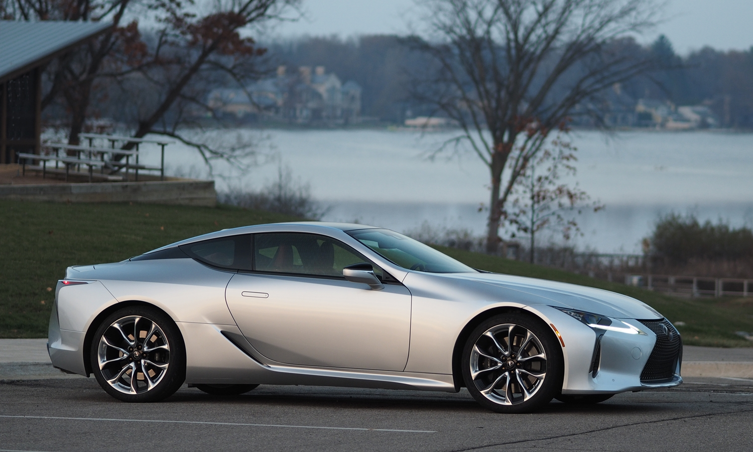Lexus LC Photos: Lexus LC 500 side view slight forward angle