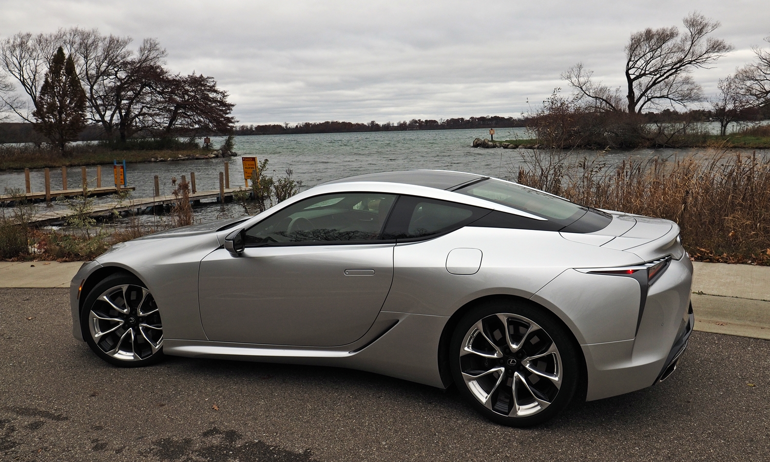 Lexus LC Photos: Lexus LC 500 side view slight rearward angle