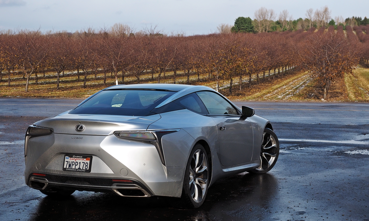 Lexus LC Photos: Lexus LC 500 rear angle view