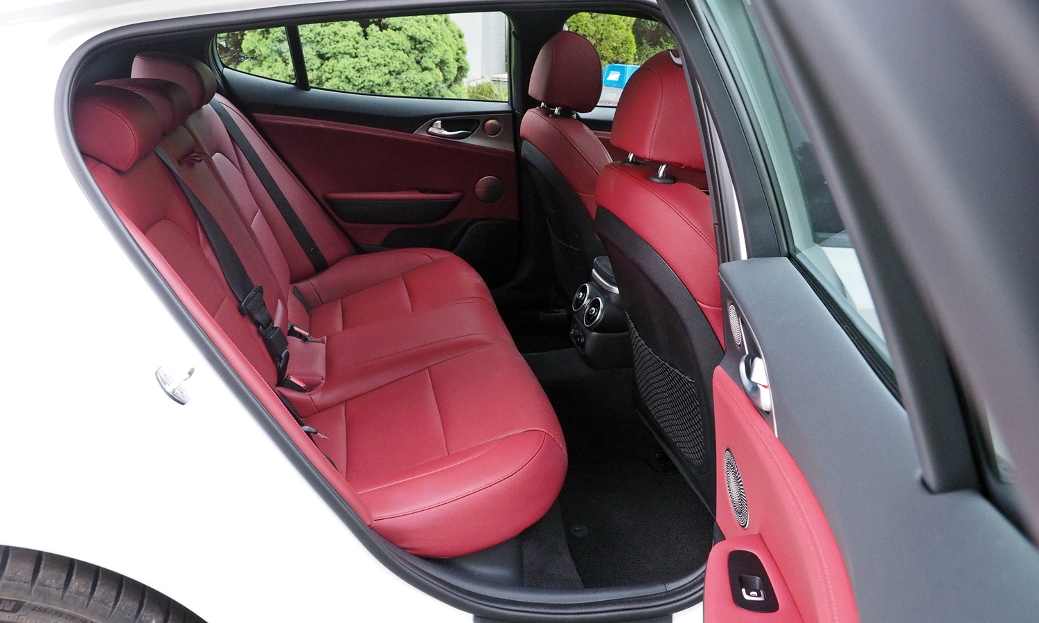 Stinger Reviews: Kia Stinger GT rear seat