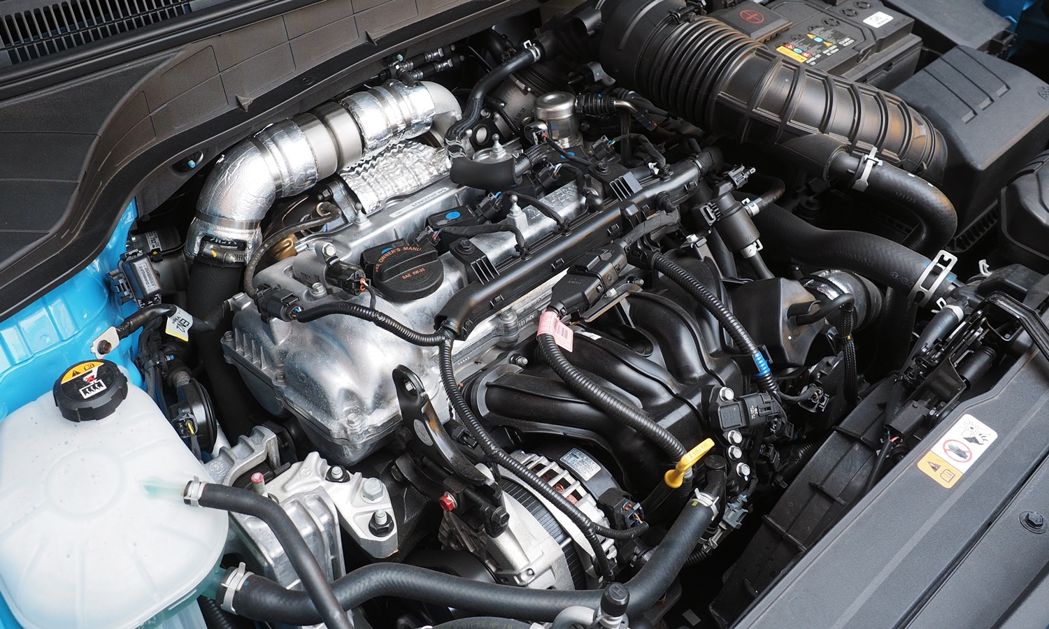 Kona Reviews: 2018 Hyundai Kona engine uncovered