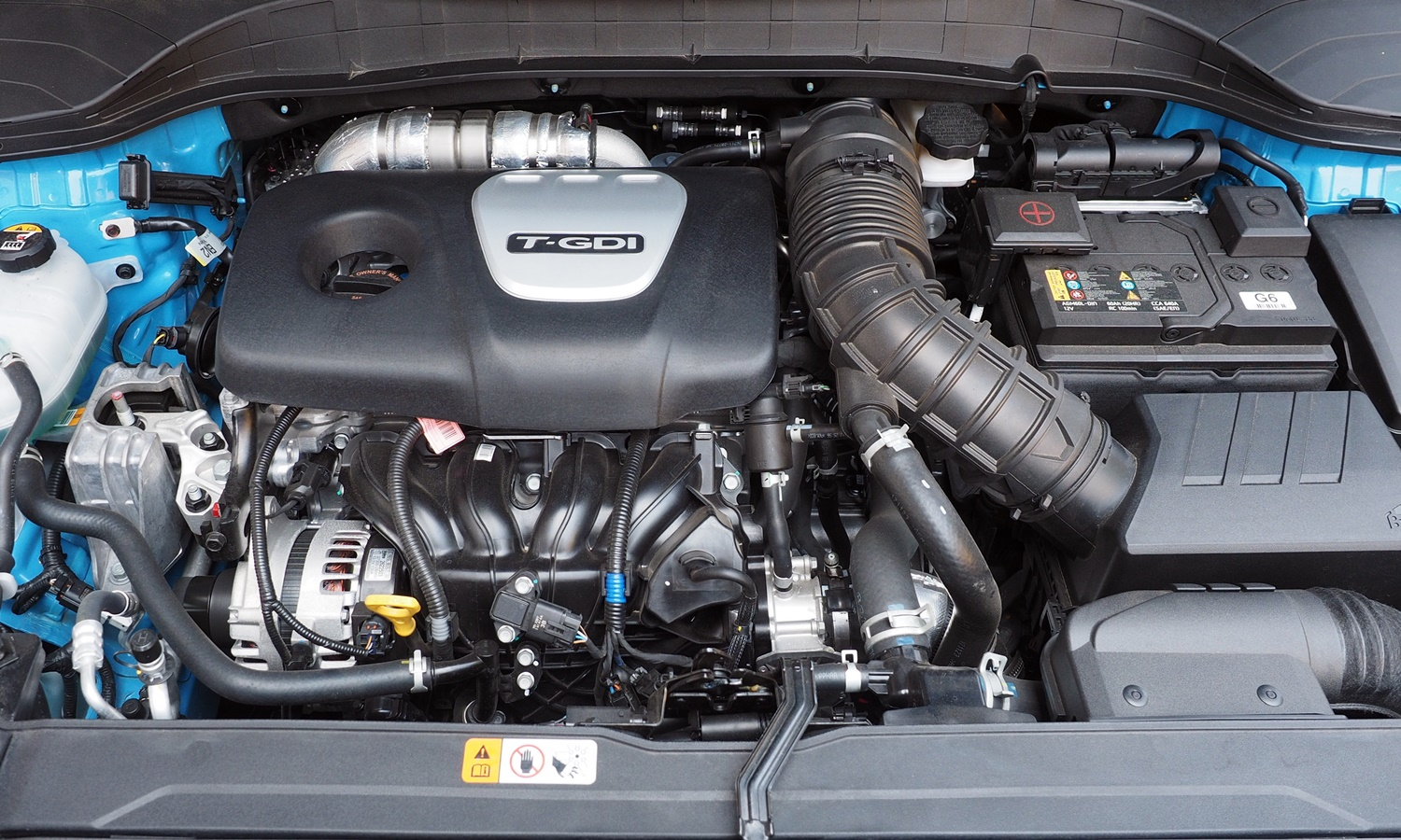 Hyundai Kona Photos: 2018 Hyundai Kona engine