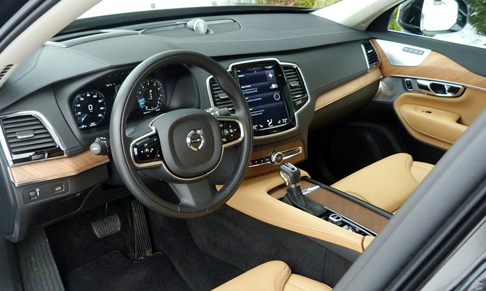 Buick Enclave Photos: Volvo XC90 interior