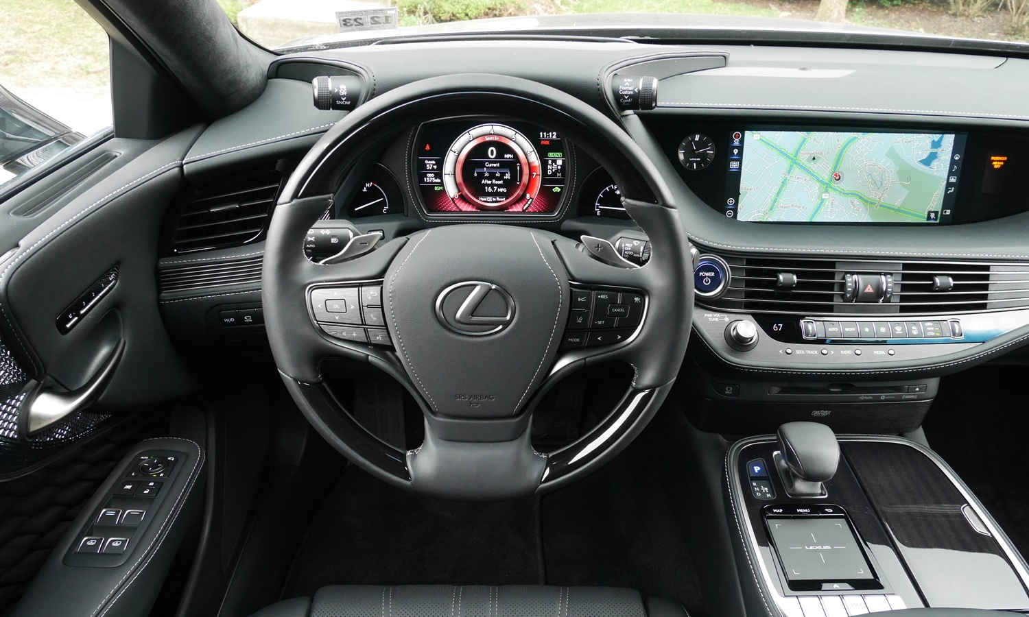 Lexus LS Photos: Lexus LS 500h instrument panel
