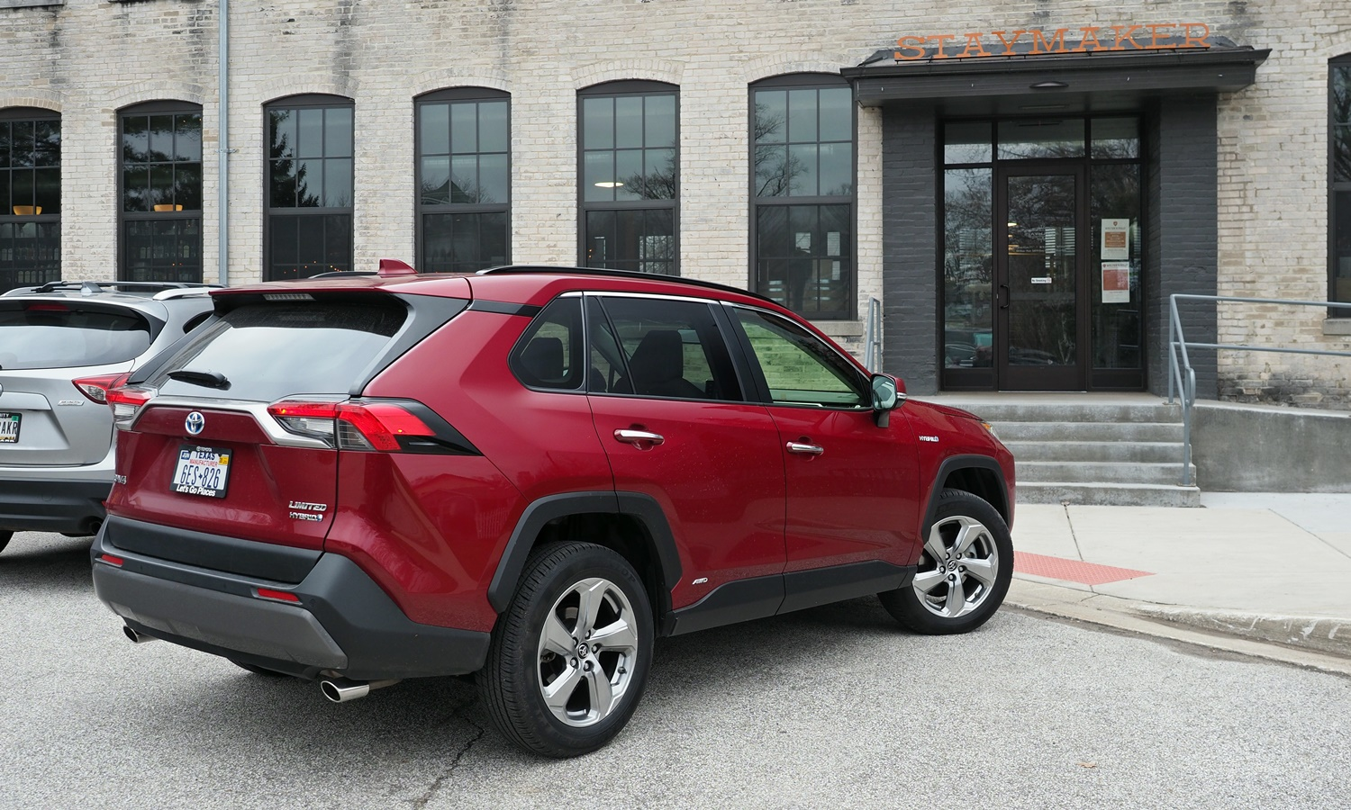 RAV4 Reviews: 2019 Toyota RAV4 rear angle view