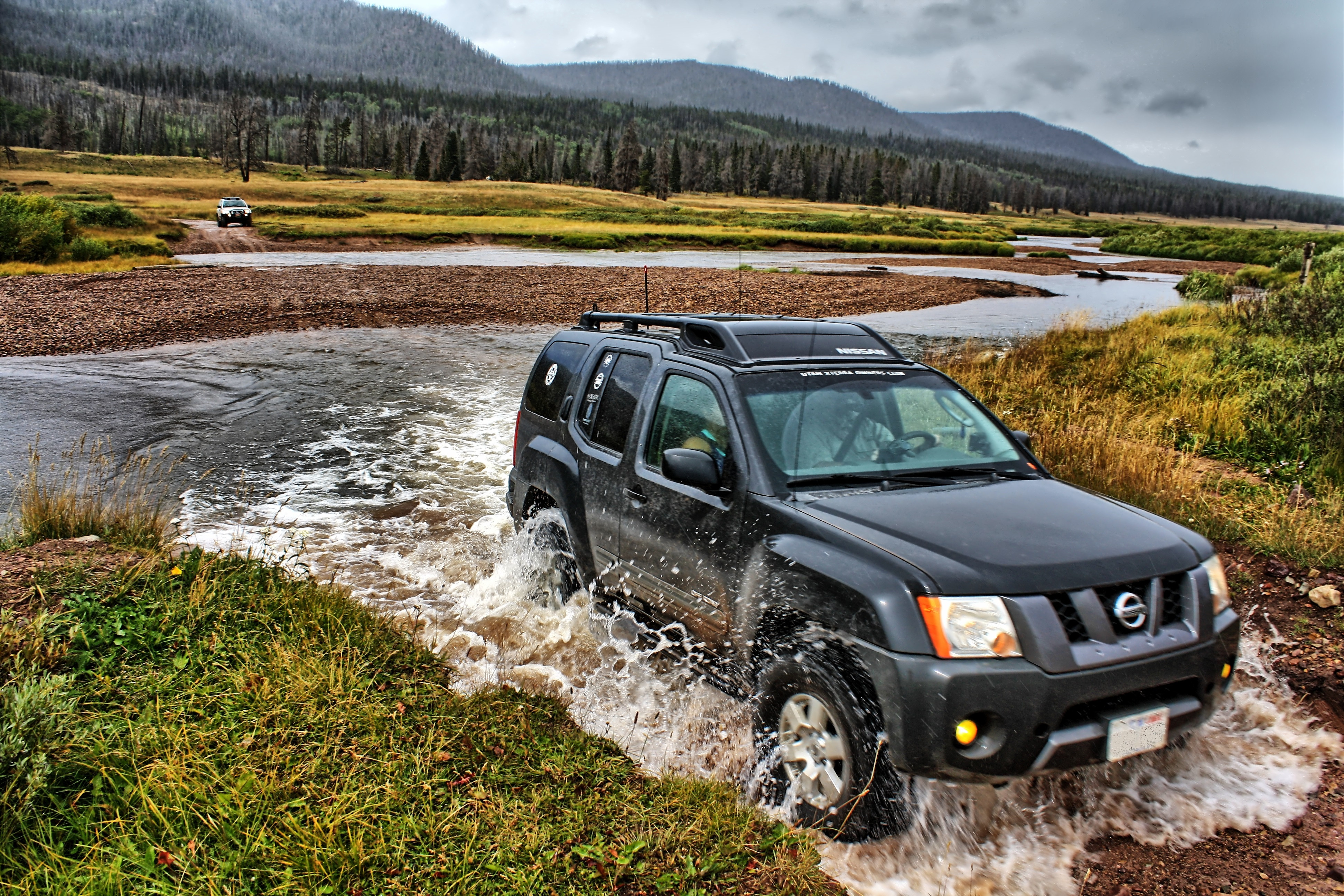 Xterra Reviews: Somewhere near the Utah/Wyoming border